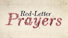 Red Letter Prayers